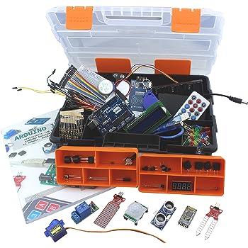 Kit für Arduino - Funduino-XXL-UNO Lernset + Arbeitsheft für Schule und Beruf
