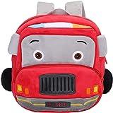 Mochila Infantil Kindergarten Guarderia Dibujos Animados Coche Linda Bolso Bebe Escuela Dibujos para niña y niño 1-3 años,Cam