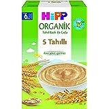 Hipp Organik 5 Tahıllı Tahıl Bazlı Ek Gıda 200 Gr 1 Paket(1 X 200 G)