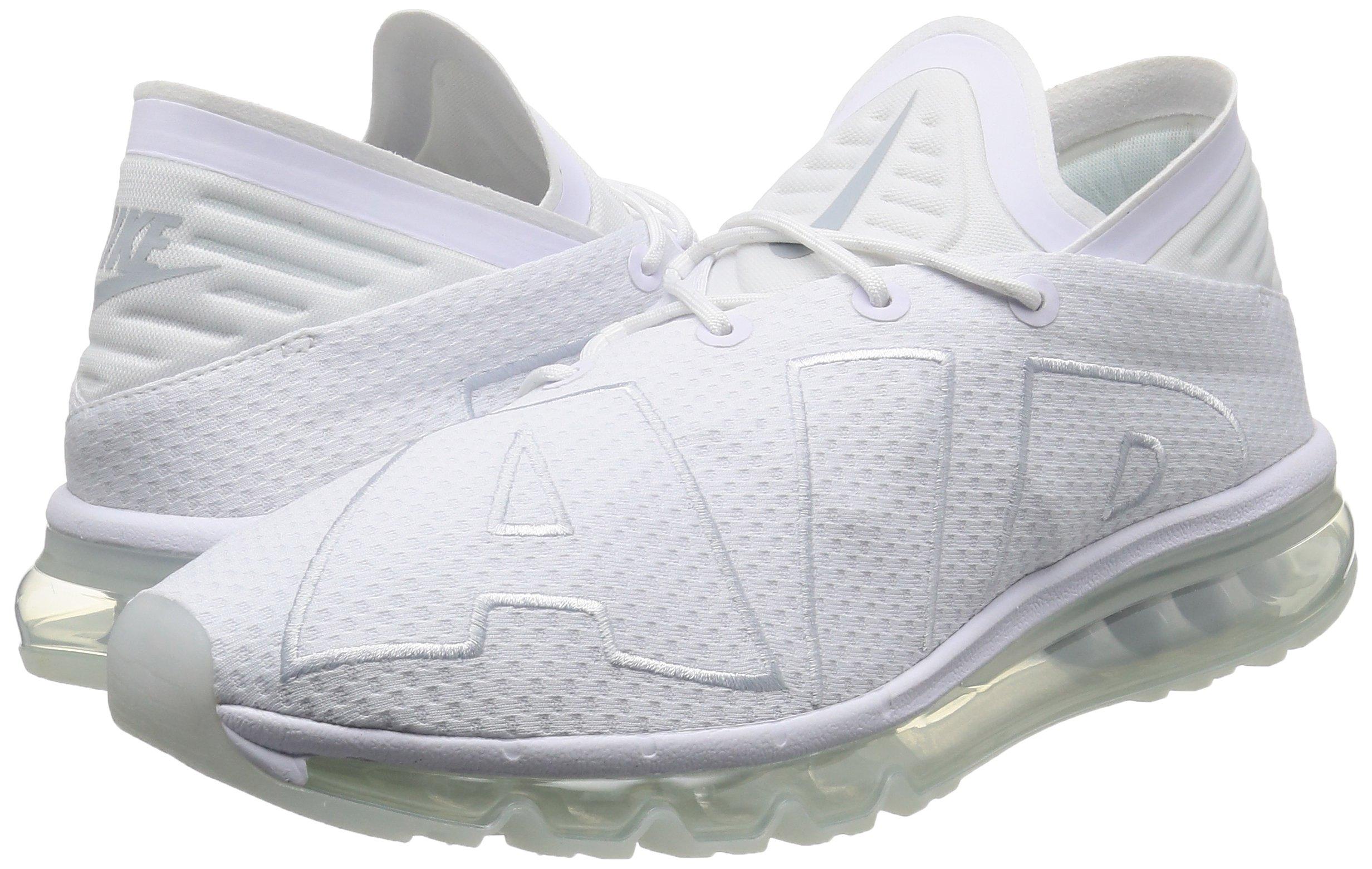 81B6QWwp0zL - Nike Mens - Air Max Flair - Triple White - 942236-100