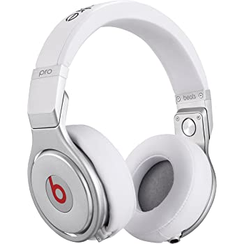 4db13e0f8ffb Beats by Dr. Dre Pro Over-Ear Headphones - White [Wired headphone ]