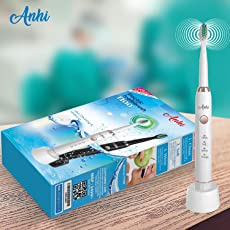 Anhi OralTek Rechargeable Electric Toothbrush with 2 Heads
