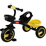 Luvlap - 18636 Joy Baby Kids Tricycle with Full Metal Frame & Anti-Slip Pedals, 1.5 to 5 Years, Carry Capacity up to 25 Kg (Y