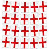 10 Meters Long England Bunting Flags with 20 St Georges Flags - England Flags Bunting, St Georges Day Decorations…