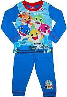 pjs Baby Shark DOO DOO Pink Fong Boys Short Pyjamas Shortie