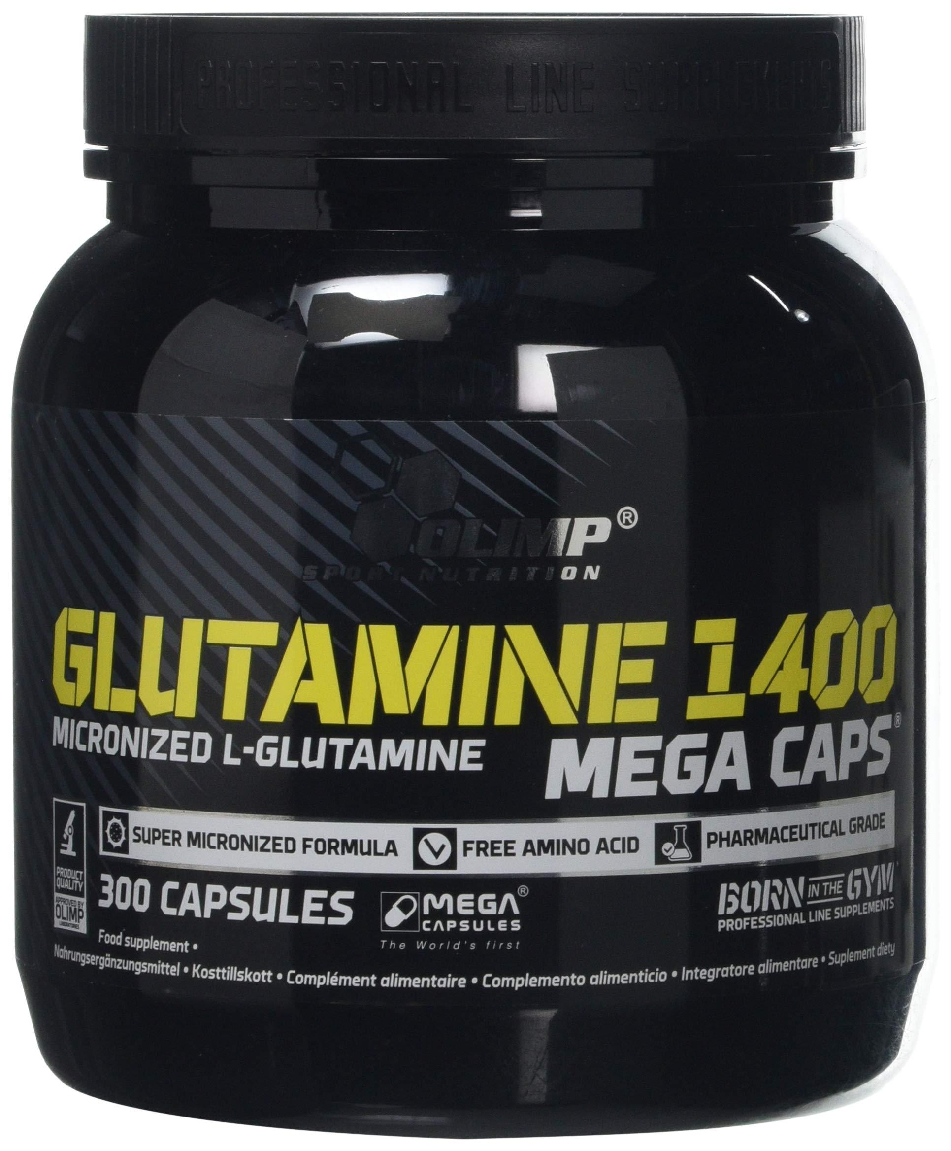 81B7v724hdL - Olimp Sport Nutrition L-Glutamin Mega Caps-300Caps