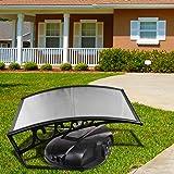 VINGO Grasmaaier Dak 103 x 51 x 7,5 cm Carport Dak Robot Grasmaaier Garage Dak Carport Geschikt voor Robotmaaiers Automower B