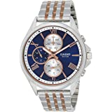 Casio Casual Watch For Men Analog Stainless Steel - MTP-E316RG-2AVDF