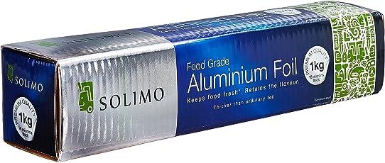 Amazon Brand - Solimo Aluminium Foil - 1 kg (18 Microns)