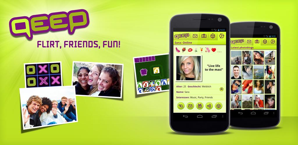 Chat, Flirt, Friends - qeep