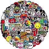 Jackify Pegatinas 100-PCS, Stickers Vinilo Graffiti Calcomanías Pegatina para Moto Infantiles ParedCoche Teclado Bicicleta Or