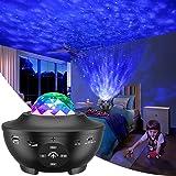 Proyector de Luz Estelar, LED de Luz Nocturna Giratorio, Lámpara de Nocturna Estrellas, 10 Modos Proyector LED Color Reproduc