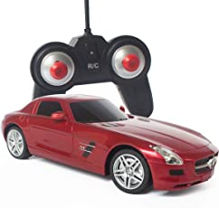 ToysCentral Mercedes Benz SLS AMG Remote Control Car, 1:24 Officially Licensed Model