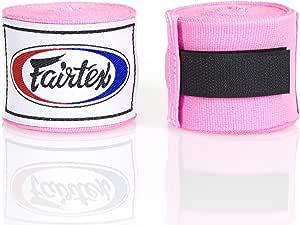 "Fairtex Elastic Cotton Handwraps HW2-120 and 180""- Full Length Hand Wraps. Many Colors"