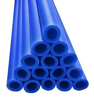 upper bounce trampoline pole foam sleeves set of 16 blue