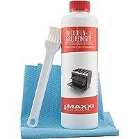 Maxxi Clean Backofenreiniger 500-ml Gel Paste inkl. Backofen- und Grillreiniger Pinsel | löst hartnäckigste…