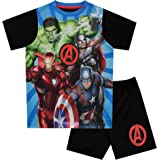 Marvel Avengers Pijamas de Manga Corta para niños Vengadores