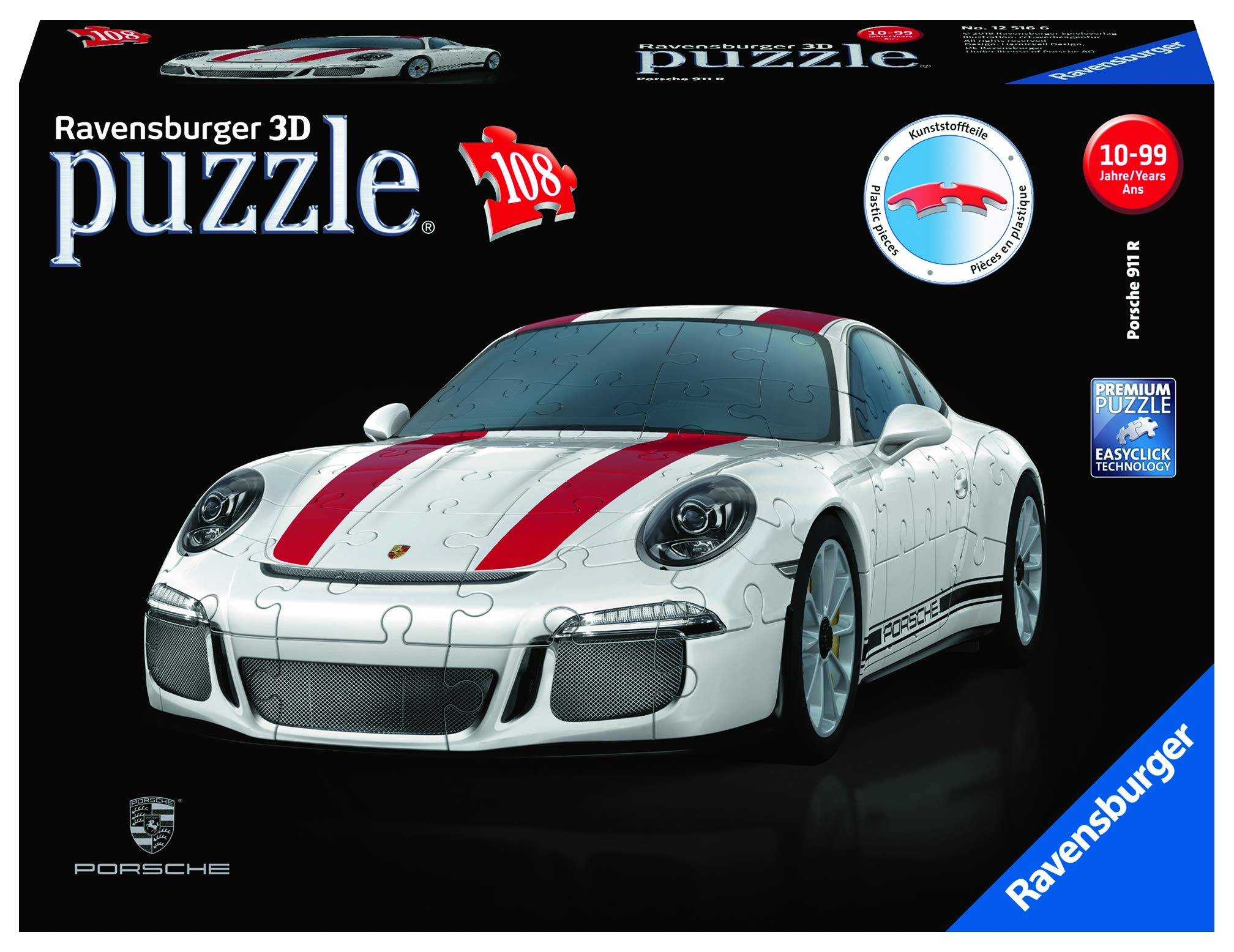 RAVENSBURGER 3D JIGSAW PUZZLE  12535 GRAFFITI SNEAKER 108 PIECES