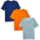 Amazon Essentials Camisetas de Manga Corta Niños, Pack de 3