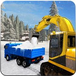Snow blower, Excavator Crane Truck Driver