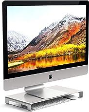 Satechi Universal-Unibody-Monitor-Erhöhung aus Aluminium kompatibel mit 2017 MacBook Pro. iMac Pro, Google Chromebook, Microsoft Surface und andere (Silber)