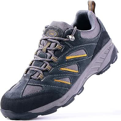 TFO Escursionismo Scarpe da Outdoor da Uomo Impermeabili Low Rise Scarpe da con Antiscivolo e Leggere