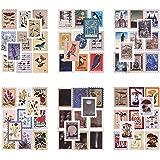 276 feuilles Scrapbooking Autocollant Autocollant Papier Autocollant de timbre-poste vintage Autocollant d'étanchéité Autocol