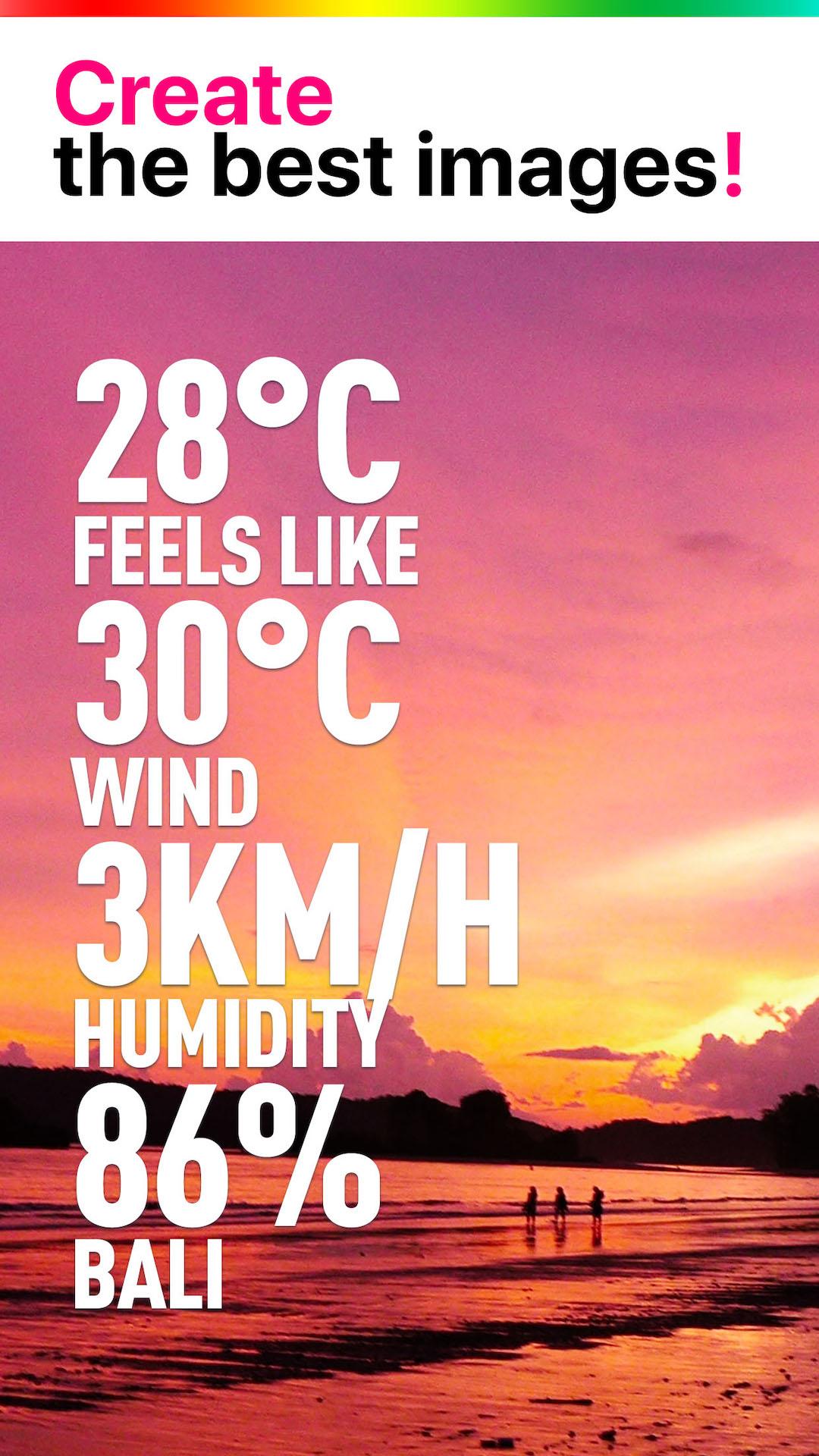 WeatherShot Screenshot