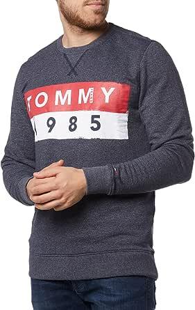 Tommy Jeans Men's Basic Logo Crew Neck Sweatshirt