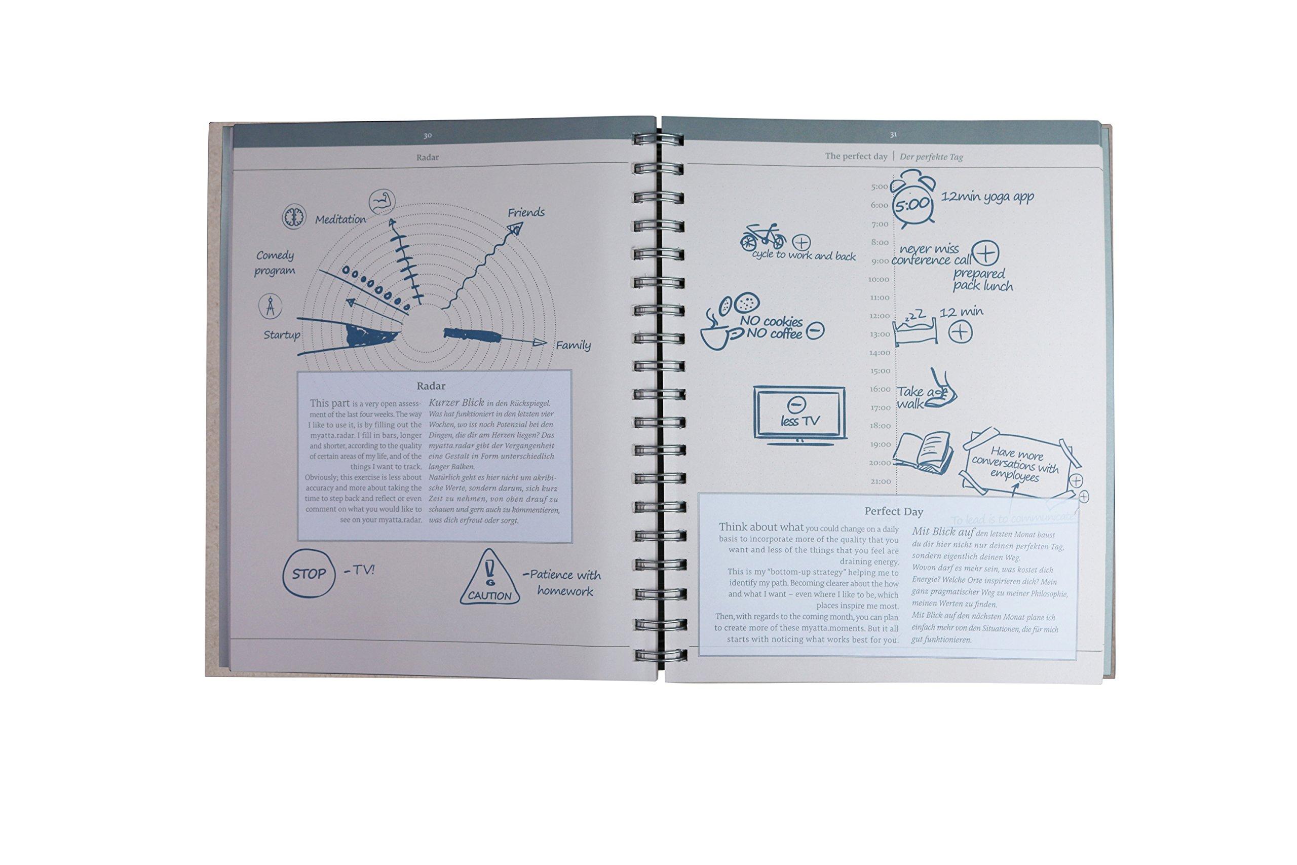 Kühlschrank Wochenplaner : Myattanotes journal i organizer i wochenplaner i alltagshelfer i