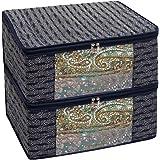 Homestrap Premium 3 Layer Cotton Multi Purpose Storage/Clothes/Saree Cover Bag