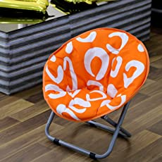 NHR Baby Foldable Cushioned Chair (Orange)