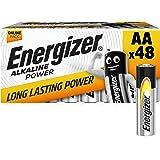 Energizer Batterijen AA, alkaline power, 48 stuks