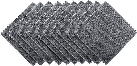 Bonorum® Premium - Mikrofasertücher mit 300 GSM (!) - Perfekt für die Reinigung von Autos, Motorräder oder im Haushalt - 10 Stück - 40 cm x 40cm