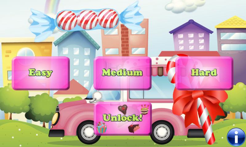 candy s igkeiten und kuchen spiele f r kleinkinder und kinder kostenlos apps f r. Black Bedroom Furniture Sets. Home Design Ideas