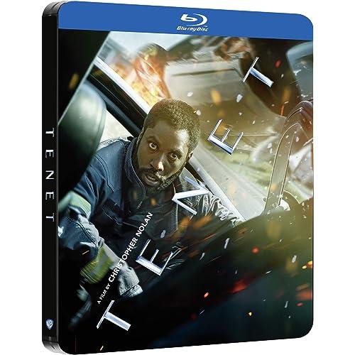 Tenet Steelbook Blu Ray - Esclusiva Amazon (2 Blu Ray)
