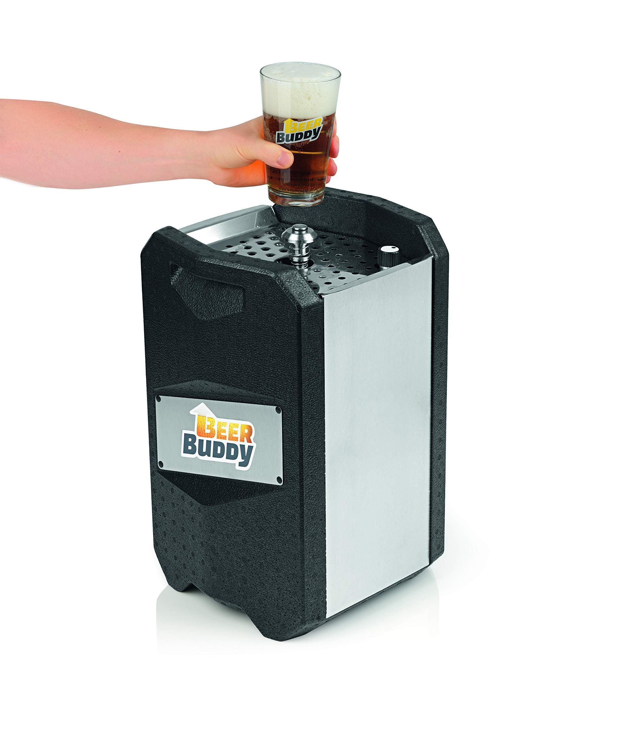 81BHk99l24L - Beer Buddy Version 2.0 latest version. Bottoms Up Beer Tap for 5 Litre Party Barrels