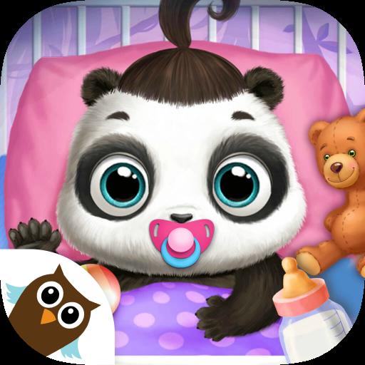 Panda Lu Baby Bear Care - Cute Mini Pet Friend (Bear Outfit Care)