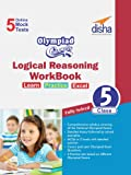 Olympiad Champs Logical Reasoning Workbook Class 5 with 5 Mock Online Olympiad Tests