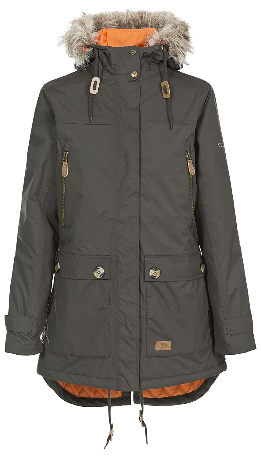 Trespass Women's Clea Jacket: Amazon.co.uk: Sports & Outdoors