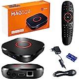 MAG 524 Original Infomir IPTV Set Top Box 4K UHD 2160p 60FPS Multimedia Speler Internet TV IPTV Receiver Smart TV / HEVC H.25