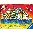 Ravensburger - Labyrinthe - Jeu de société classique - Jeu de réflexion famille - 2 à 4 joueurs dès 7 ans - 26743 - Version f