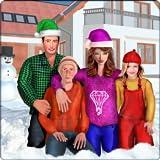 virtual mama verdadera familia diversión invierno aventura