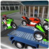 3D Bike Transporter Truck