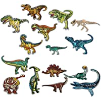 FORMIZON 15 PCS Toppe Dinosauro Ricamata Fai da Te Patch Termoadesive, Toppe Termoadesive Applicazioni Ricamata da…