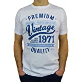 1971 Vintage Year - Aged to Perfection - 50th Birthday Gift/Present Mens T-Shirt