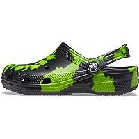 crocs Unisex-Adult Men's and Women's Classic Tie Dye Clog   Comfortable Slip on Water Shoes