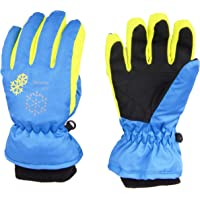Snowboard-Handschuhe f/ür Jungen und M/ädchen Amyipo Kinder-Winterhandschuhe f/ür Schnee und Ski