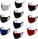 Urban Basics Mouth Nose Cover Respirator Anti Pollution Reversible, Reusable & Washable Double Layer Cotton Unisex Face…