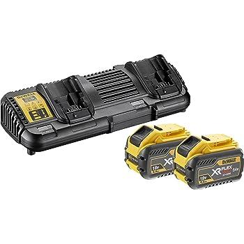 dewalt dcb546 xj xr flex volt batterie 18 v jaune noir 6 a jaune dcb547 xj 18v. Black Bedroom Furniture Sets. Home Design Ideas